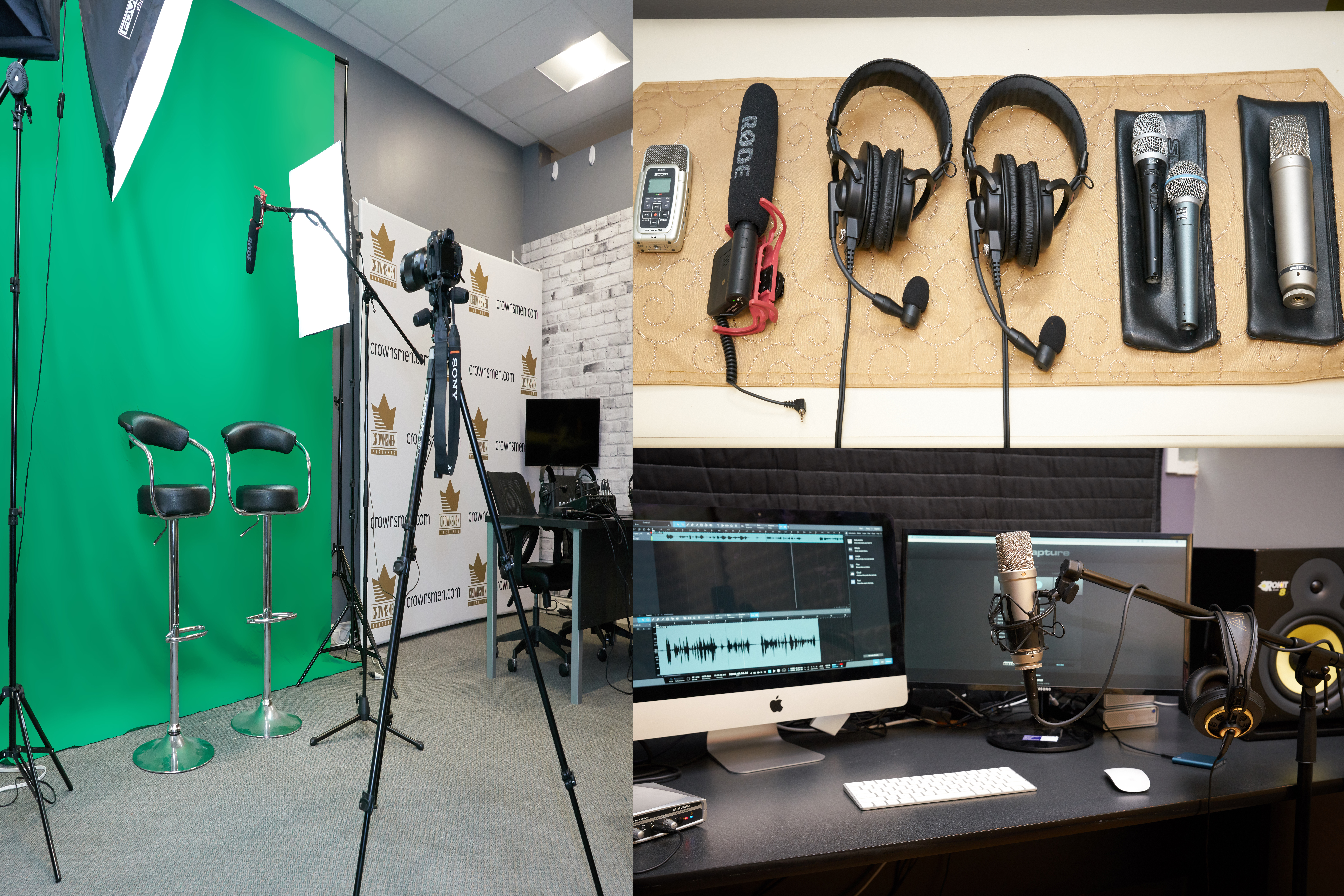 Full Podcast, Film, and Editing Workstation for Rent New Westminster
